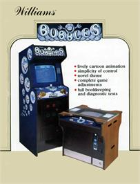 Advert for Bubbles on the Arcade.