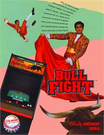 Advert for Bullfight on the Arcade.