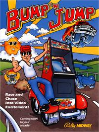 Advert for Bump 'n' Jump on the Arcade.