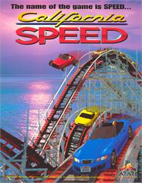 Advert for California Speed on the Arcade.