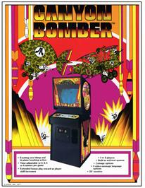 Advert for Canyon Bomber on the Arcade.