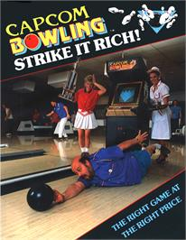 Advert for Capcom Bowling on the Arcade.