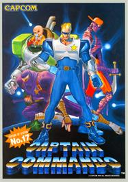 Advert for Captain Commando on the Sony Playstation.