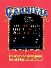 Advert for Carnival on the Mattel Intellivision.