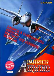 Advert for Carrier Air Wing on the Arcade.