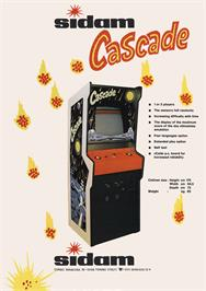 Advert for Cascade on the Arcade.