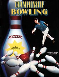 Advert for Championship Bowling on the Nintendo NES.