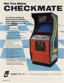 Advert for Checkmate on the Commodore Amiga.