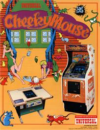 Advert for Cheeky Mouse on the Arcade.