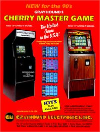 Advert for Cherry Master on the Arcade.