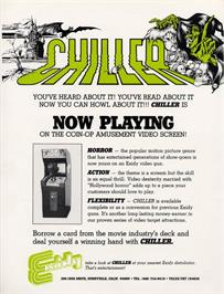 Advert for Chiller on the Arcade.