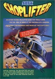 Advert for Choplifter on the Arcade.