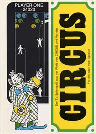 Advert for Circus on the Arcade.