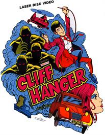 Advert for Cliff Hanger on the Arcade.