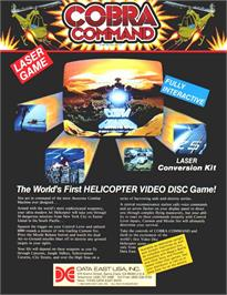 Advert for Cobra Command on the Sega CD.