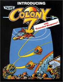 Advert for Colony 7 on the Arcade.