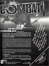 Advert for Combat on the Atari 2600.