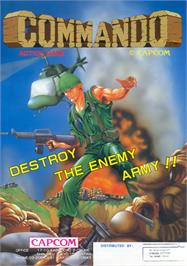 Advert for Commando on the Nintendo NES.