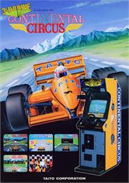 Advert for Continental Circus on the MSX 2.