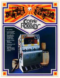 Advert for Cops'n Robbers on the Arcade.