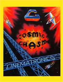 Advert for Cosmic Chasm on the GCE Vectrex.