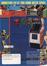 Advert for Cosmic Monsters on the Arcade.
