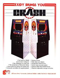 Advert for Crash on the Arcade.