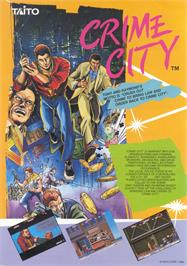 Advert for Crime City on the Arcade.