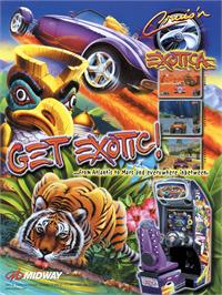 Advert for Cruis'n Exotica on the Arcade.