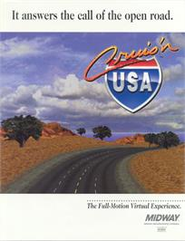 Advert for Cruis'n USA on the Nintendo N64.
