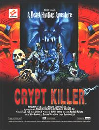 Advert for Crypt Killer on the Arcade.