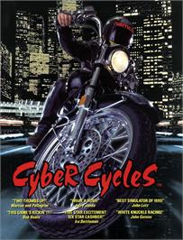 Advert for Cyber Cycles on the Arcade.