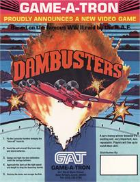 Advert for Dambusters on the Coleco Vision.