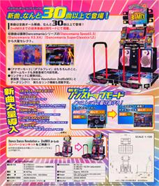Advert for Dance Dance Revolution 3rd Mix - Ver.Korea on the Arcade.