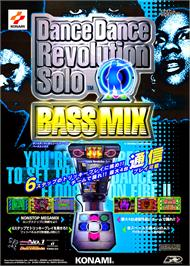 Advert for Dance Dance Revolution Solo Bass Mix on the Arcade.