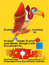 Advert for Dazzler on the Arcade.