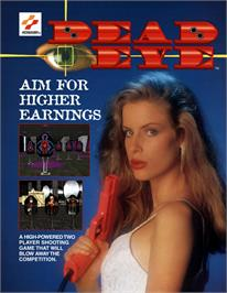 Advert for Dead Eye on the Arcade.