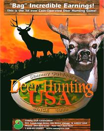 Advert for Deer Hunting USA V4.3 on the Arcade.