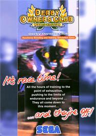 Advert for Derby Owners Club World Edition on the Arcade.