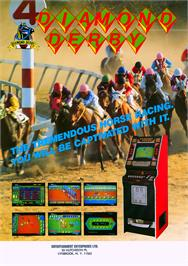 Advert for Diamond Derby on the Arcade.