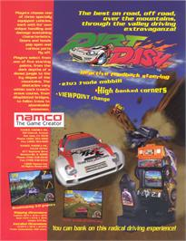 Advert for Dirt Dash on the Arcade.