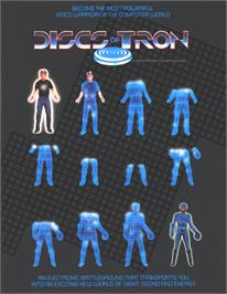 Advert for Discs of Tron on the Arcade.