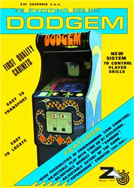 Advert for Dodgem on the Apple II.