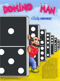 Advert for Domino Man on the Arcade.
