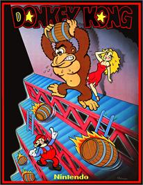 Advert for Donkey Kong II - Jumpman Returns on the Arcade.