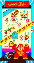 Advert for Donkey Kong Jr. on the Nintendo Famicom Disk System.