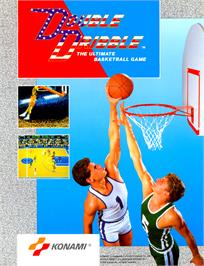 Advert for Double Dribble on the Arcade.