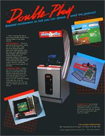 Advert for Double Play on the Arcade.