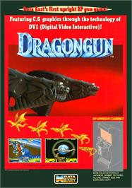 Advert for Dragon Gun on the Arcade.