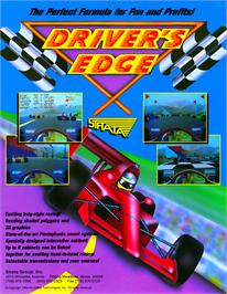 Advert for Driver's Edge on the Arcade.